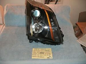 2008 2013 Cadillac Cts New Spyder Right Headlight Assembly Hd jh cacts08 am bk
