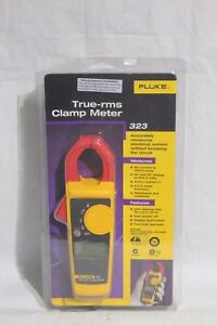 Fluke True rms Clamp Meter 323 Multimeter g93445 1 Er G1 a
