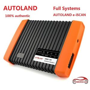 Full System Scanner Obd2 Code Reader Diagnostic Vehicle Tool Autoland E iscan