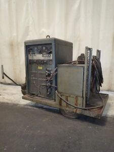 Lincoln Electric Idealarc Tig 300 300 Portable Welder 40v 300 Amps 101709