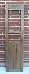 Spanish Colonial Antique Wooden Door Old Mexico 74 1 2 X 21 3 8 X 1 3 4 Z