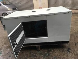 New 15000w 15kw 1 Phase Diesel Powered Generator With Enclosure Shipped By Sea