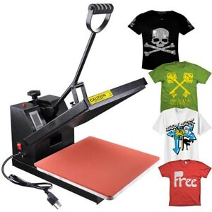 15x15 Lcd Digital Heat Press Machine Transfer Sublimation Business T shirt