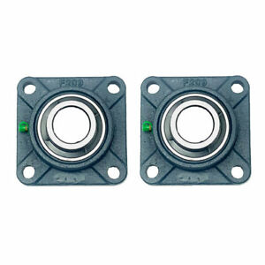 2x Ucf209 27 1 11 16 Square 4 Bolt Flange Bearing
