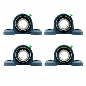 4x Ucp208 24 1 1 2 Pillow Block Bearing
