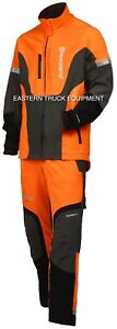 Husqvarna Hi Viz Technical Jacket Logger Arborist Protective Clothing Chainsaw M
