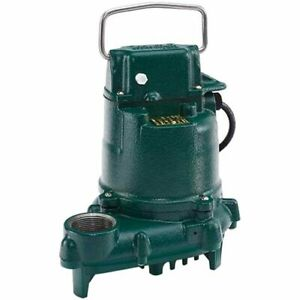 Zoeller E53 0070 3 10 Hp Cast Iron Submersible Sump Effluent Pump non au