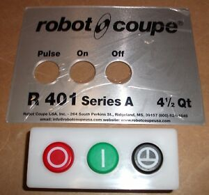 Robot Coupe Genuine Original 39802 Food Processor Control Panel Assy R401a r402