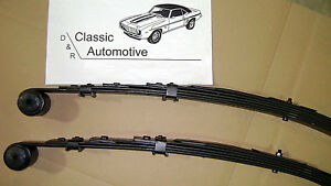 3 Day Sale Leaf Springs Pair Camaro Firebird 67 81 5 Leaf Multileaf Nova 68 79