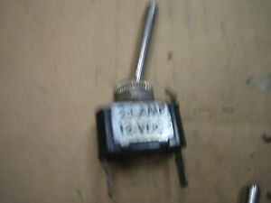 Vintage Truck Car Cole Hersee 55055 Long Handle Toggle Switch