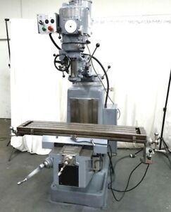 Sharp 3hp Super Heavy Duty Milling Machine Mill Miller Variable Speed