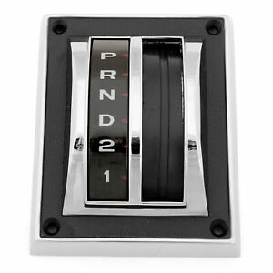 67 68 Ford Mustang Shift Selector Bezel W Dial Seal
