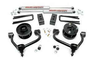 Rough Country 3 Suspension Lift Kit W Upper Control Arm Ford F150 14 17 4wd 4x4