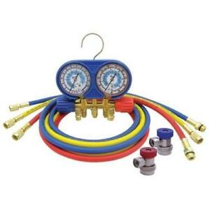 Cps A c Manifold Gauge Set Brass Am134buq