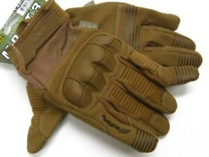Mechanix Wear Large L Coyote Tan M pact 3 Tactical Work Gloves New Mp3 72 010