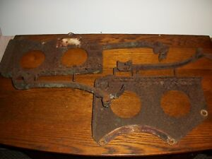 Farmall A Tractor Ih Seat Brackets And Springs Original