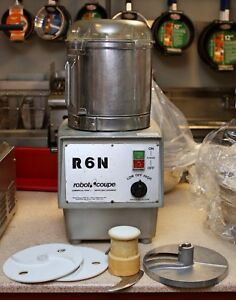 Robot Coupe R6n Food Processor Chopper Bowl Cutter