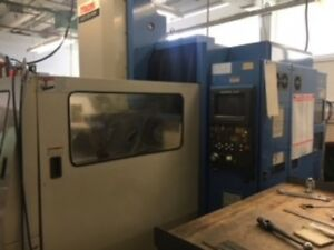 Used Mazak Ajv 25 405 Cnc Vertical Mill 1989 Cat 50 3150rpm Vmc 39x20x18 Atlm