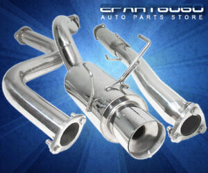 For 94 01 Acura Integra Gsr Dc2 B18 3 Piping N1 Catback Exhaust System System