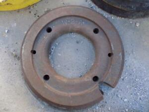 61 Lb Wheel Weight For Compact Tractors Part W 2 a Fits Many Makes models