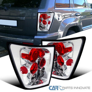 For 05 06 Jeep Grand Cherokee Clear Reverse Tail Lights Rear Brake Parking Lamps
