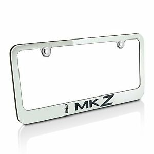 Lincoln Mkz Chrome Metal License Plate Frame