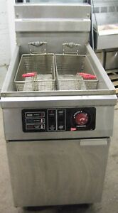 Cecilware 65 Lb Pound Electric Deep Fryer Unibody Construction W Melt Cycle