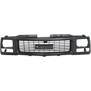 Grille Ptm Gmc C k Truck 88 93 Suburban yukon 92 93 W Single Headlights
