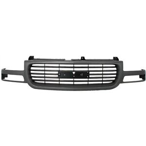 New Front Grille For Gmc Sierra 1500 Hd Yukon 2500 Hd Gm1200429 19130786