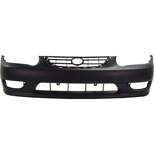 Front Bumper Cover For 2001 2002 Toyota Corolla Primed 5211902908
