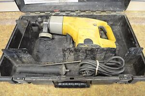 Dewalt Dw530 1 1 2 Corded Electric Rotary Hammer Drill W Case Free Shipping