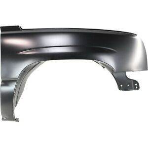 Fender For 2003 2006 Chevrolet Silverado 1500 Usa Built Front Right Primed Steel