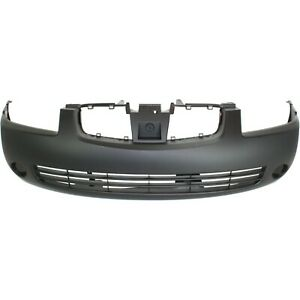 Front Bumper Cover For 2004 2006 Nissan Sentra With Fog Light Holes F20226z525