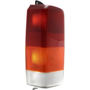 Tail Light For 97 01 Jeep Cherokee Driver Side