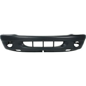 Front Bumper Cover For 2001 2002 Dodge Dakota W Fog Lamp Holes Durango Primed