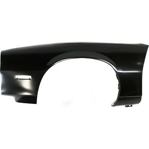 Fender For 1982 1992 Chevrolet Camaro Front Lh Primed Steel W Signal Light Hole