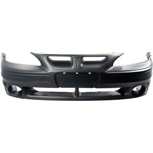 Front Bumper Cover For 1999 2005 Pontiac Grand Am Primed Gm1000573 22610696