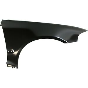 Fender For 1992 1995 Honda Civic Coupe Front Right Primed Steel W Molding Holes