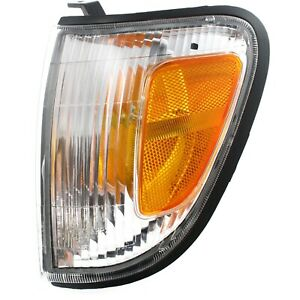 Corner Light For 1998 2000 Toyota Tacoma Driver Left Side Incandescent With Bulb
