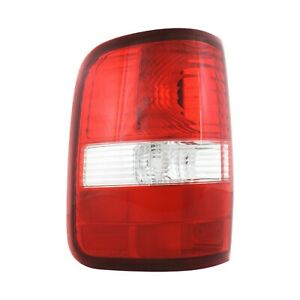 Tail Light For 2004 2008 Ford F 150 Fx4 Lh Clear Red Lens