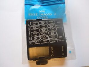 Nos 1989 Ford Probe Fuse Panel