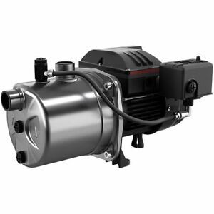 Grundfos Jp10s ss 15 Gpm 1 Hp Stainless Steel Shallow Well Jet Pump 103 R