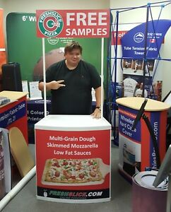 Promotion Counter Table Kiosk Trade Show Display Supermarket Demo Promo Sampling