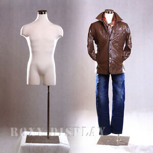 Male Mannequin Manequin Manikin Dress Form 33mleg01 bs 05