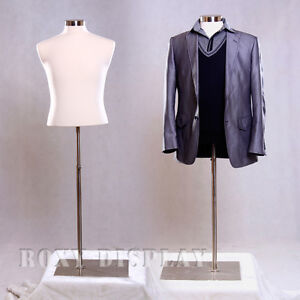 Male Mannequin Manequin Manikin Dress Form mbsw bs 05