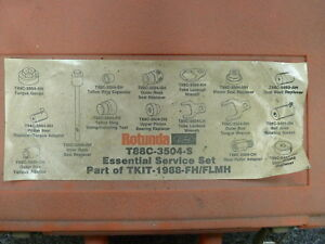 Ford Rotunda T88c 3504 s Part Of Tkit 1988 fh flmh Special Service Tools Set