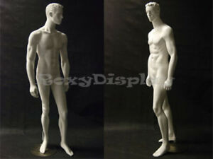 Fiberglass Male Egg Head Male Mannequin Dress Form Display md cct6w