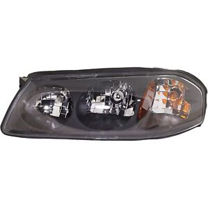 Headlight For 2000 2001 2002 2003 2004 Chevrolet Impala Left With Bulb