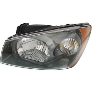 Headlight For 2004 2006 Kia Spectra Driver Side W Bulb