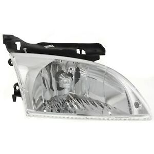 Headlight For 2000 2001 2002 Chevrolet Cavalier Ls Z24 Models Right With Bulb
